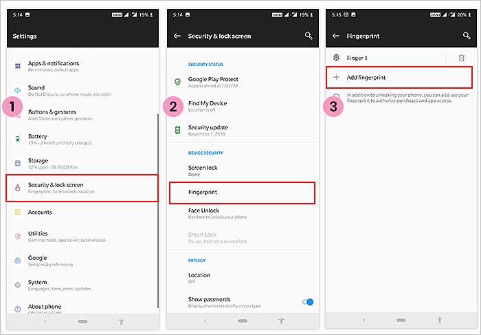 Android Fingerprint Scanner Accurate