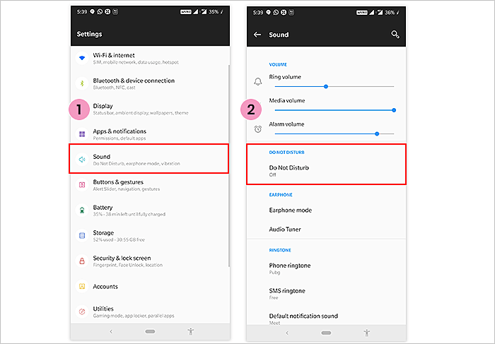 Notifications In Android Smartphones