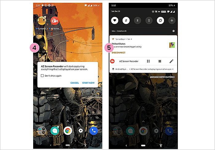 Record Your Screen On Android Phone